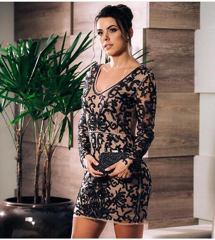 a3dd163fc Vestido bordado - Comprar em Vila Fortunato
