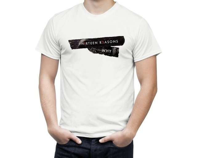 Camiseta 13 Reasons Why - comprar online