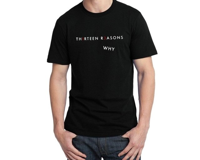 Camiseta 13 Reasons Why na internet