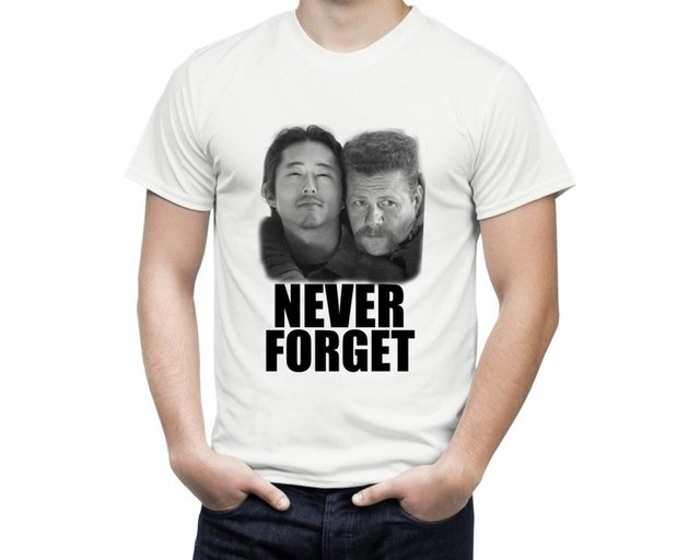 Camiseta The Walking Never Forget - comprar online