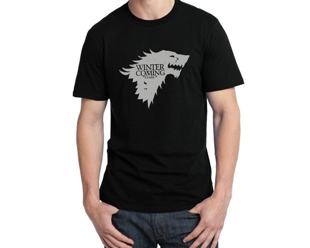 Camiseta Game Of Thrones Winter Coming - comprar online