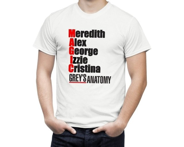 Camiseta Grey's Anatomy MAGIC - comprar online