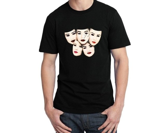 Camiseta Pretty little liars faces - comprar online