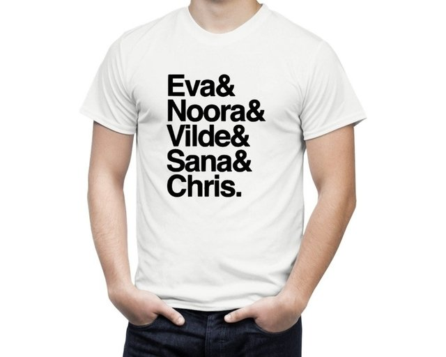 Camiseta Skam Personagens - comprar online