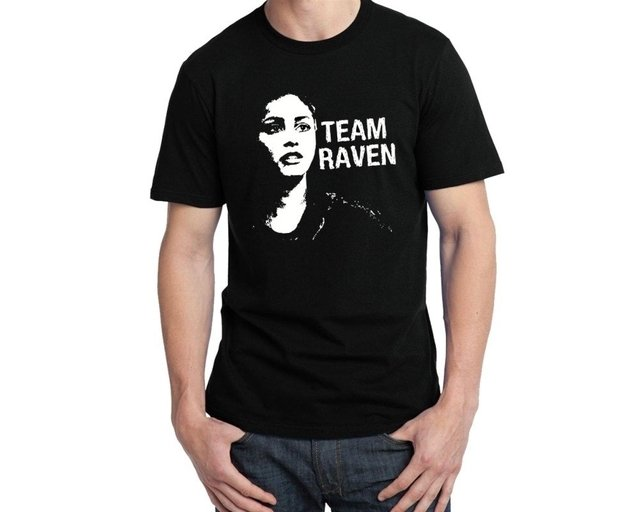 Camiseta The 100 Team Raven - comprar online