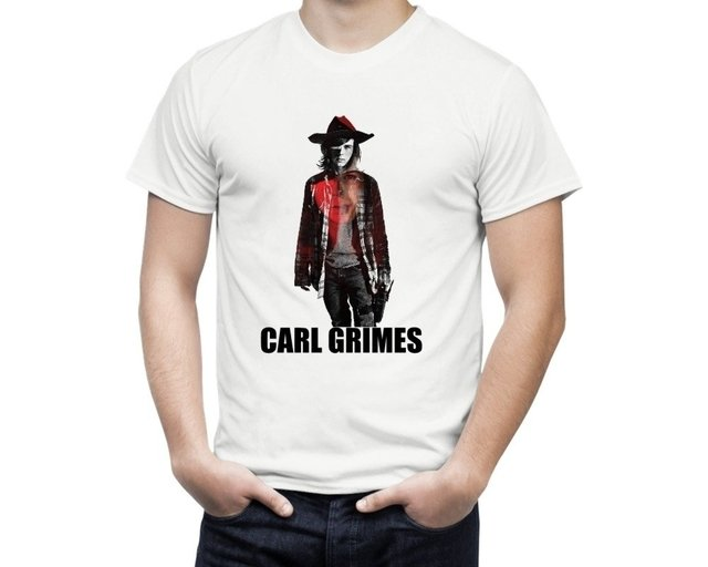 Camiseta The Walking Dead Carl Grimes - comprar online