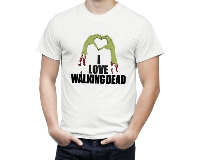 Camiseta The Walking Dead Love - comprar online