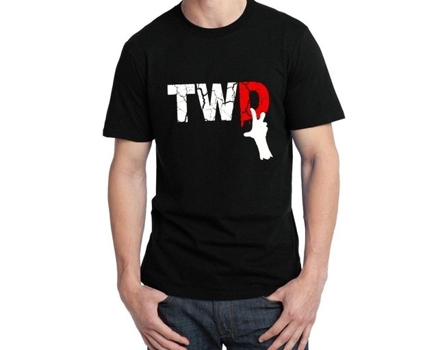 Camisa The Walking Dead TWD - comprar online