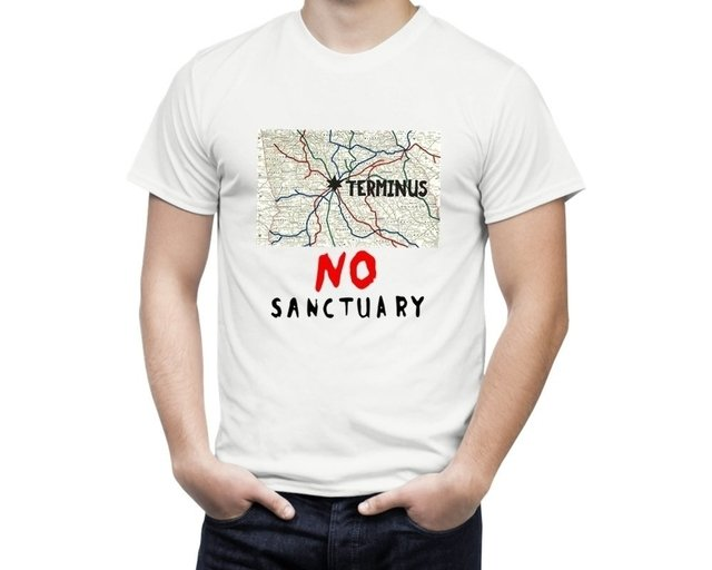 Camiseta The Walking Dead Terminus - comprar online