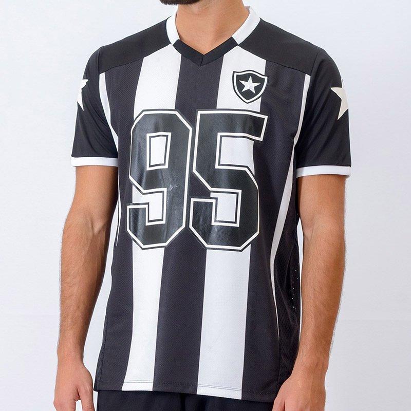 affbf43466 Camisa Botafogo Braziline 95