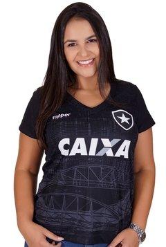 Camisa Botafogo Aquecimento Feminina 2018