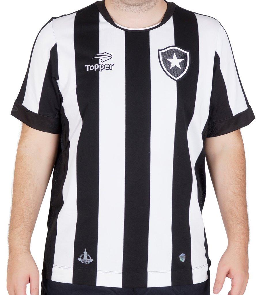 d60a295e23750 Camisa do Botafogo Home 2016 Topper Masculina