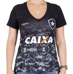 Camisa Botafogo Aquecimento Feminina
