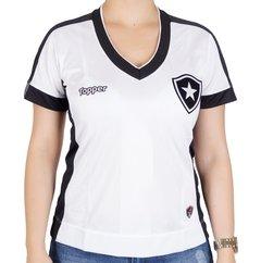 Camisa Botafogo Feminina Branca 2017