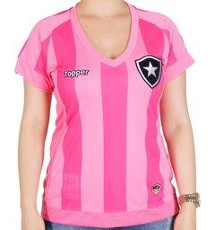 Camisa Botafogo Feminina Rosa Topper 2017