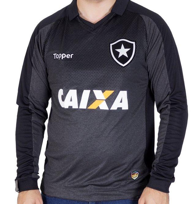 Camisa 2 Botafogo Manga Longa  ed1c6a6917bb4