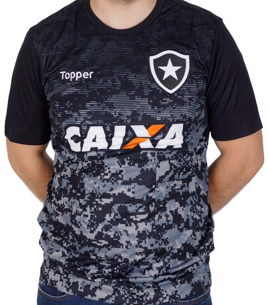 25297736e84d7 Camisa do Botafogo Aquecimento c  patrocínio