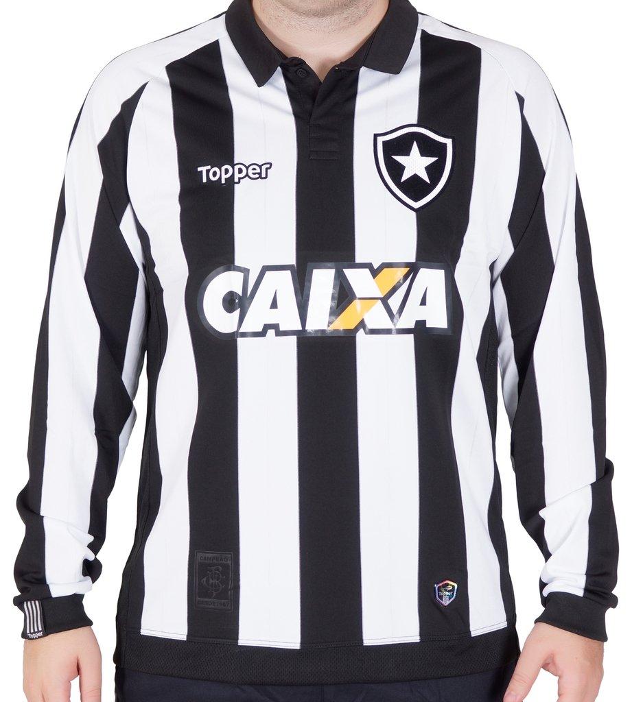 e30ef2a8d6097 Camisa Botafogo Manga Longa
