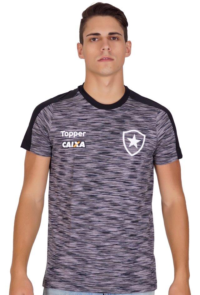 Camisa Botafogo Concentração Atleta 2018 799e82c9e5b79