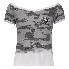 Camisa Botafogo Feminina Camurflada