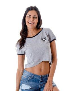 Camisa Botafogo Feminina Cropped