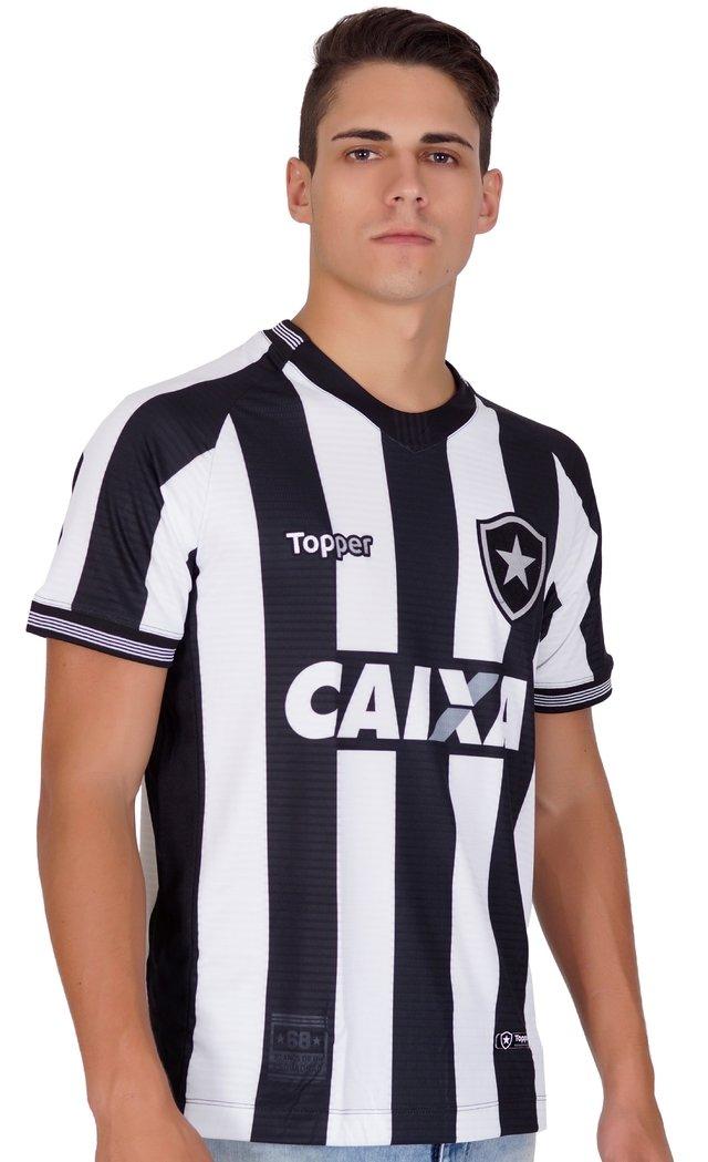 Camisa Botafogo Listrada 2018 Topper f76a886b37efa