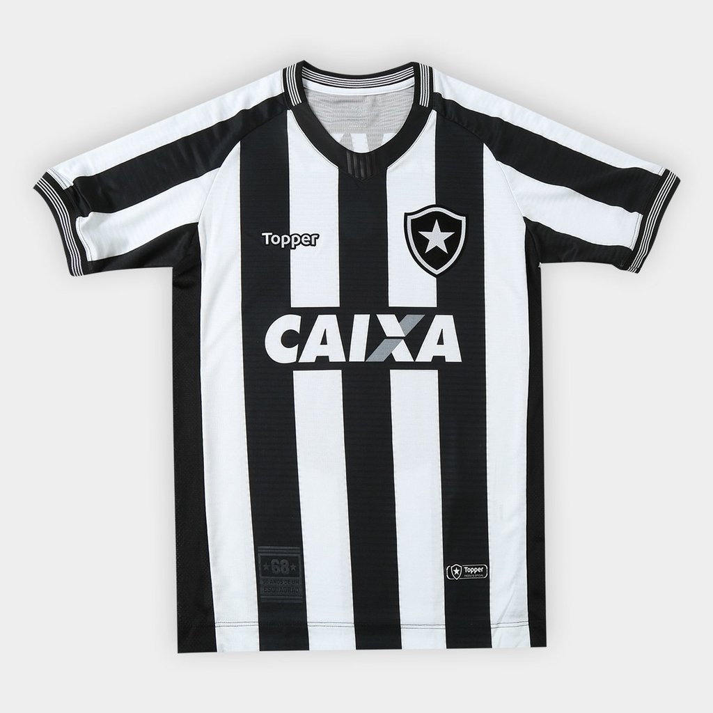 Camisa Botafogo Juvenil 2018  9d11d2a3445d7