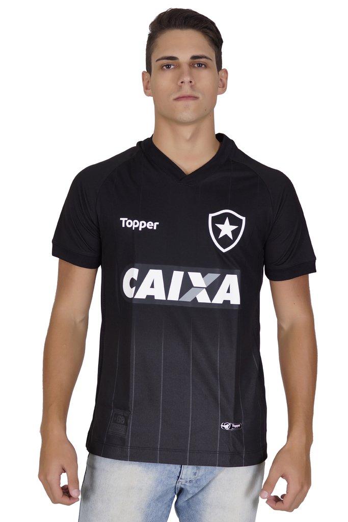 Camisa Botafogo Preta 2018 Topper afcff8d41cb5c