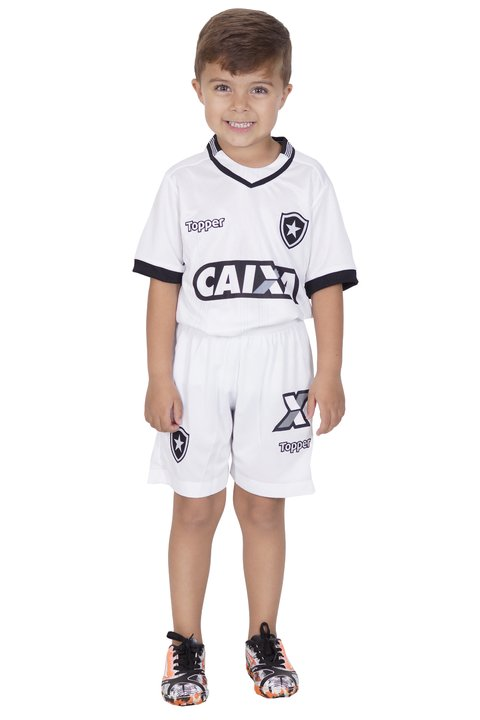 a94e0d8d29 Camisa Botafogo Infantil Preta 2018