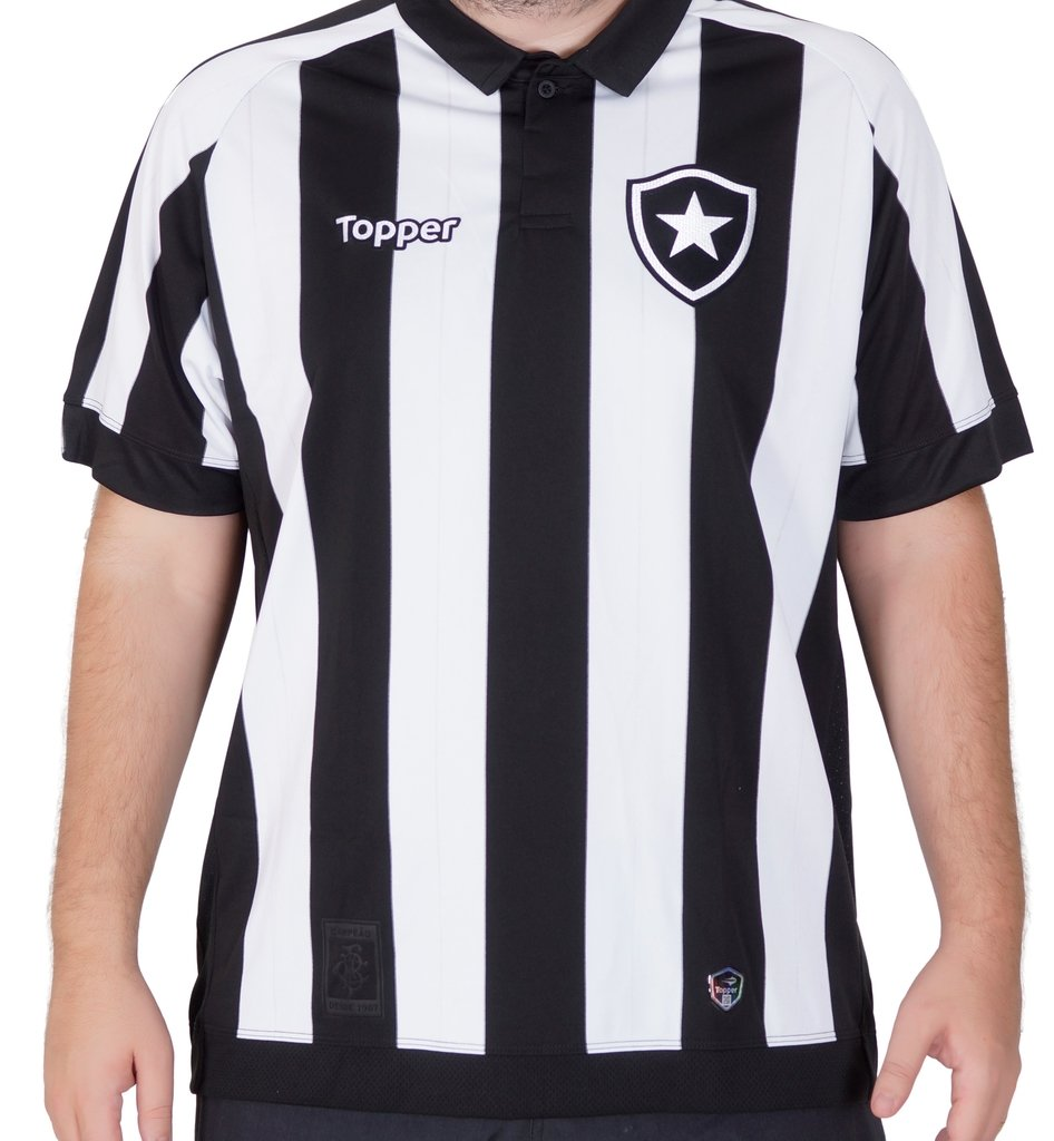 646271bb54c17 Camisa Botafogo Home Patrocínio