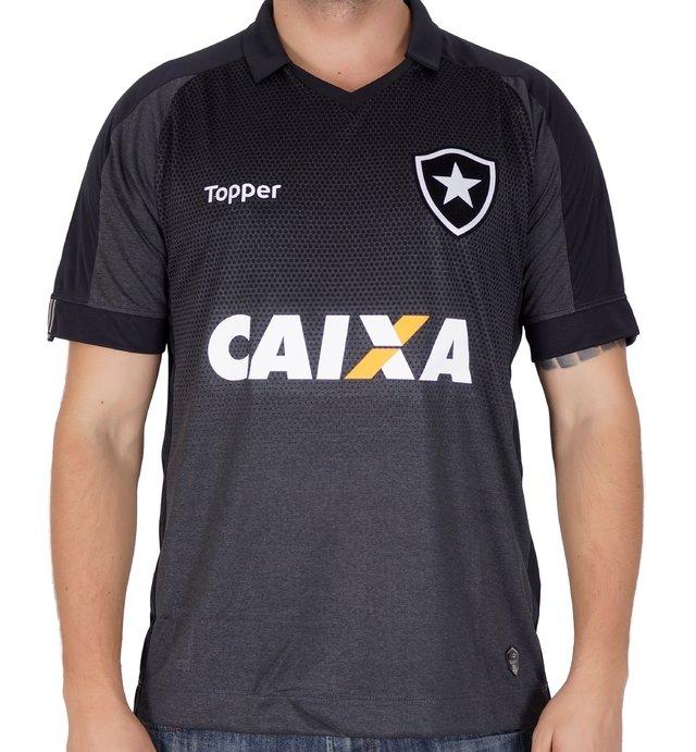 Camisa Botafogo 2 Patrocínio b991ffa4ac5e2