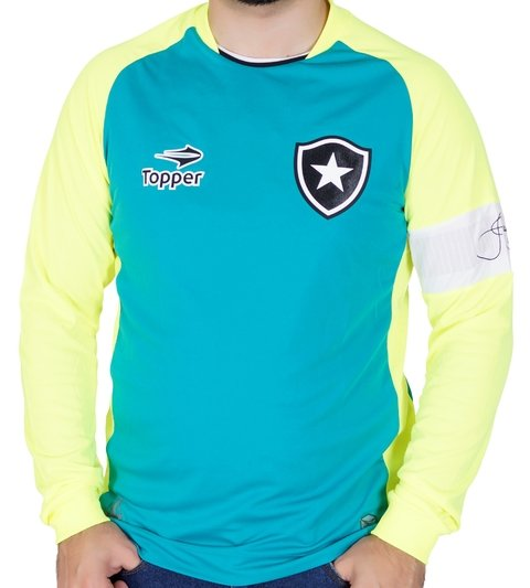 a0de0d709 Camisa Goleiro Botafogo Cinza 2018