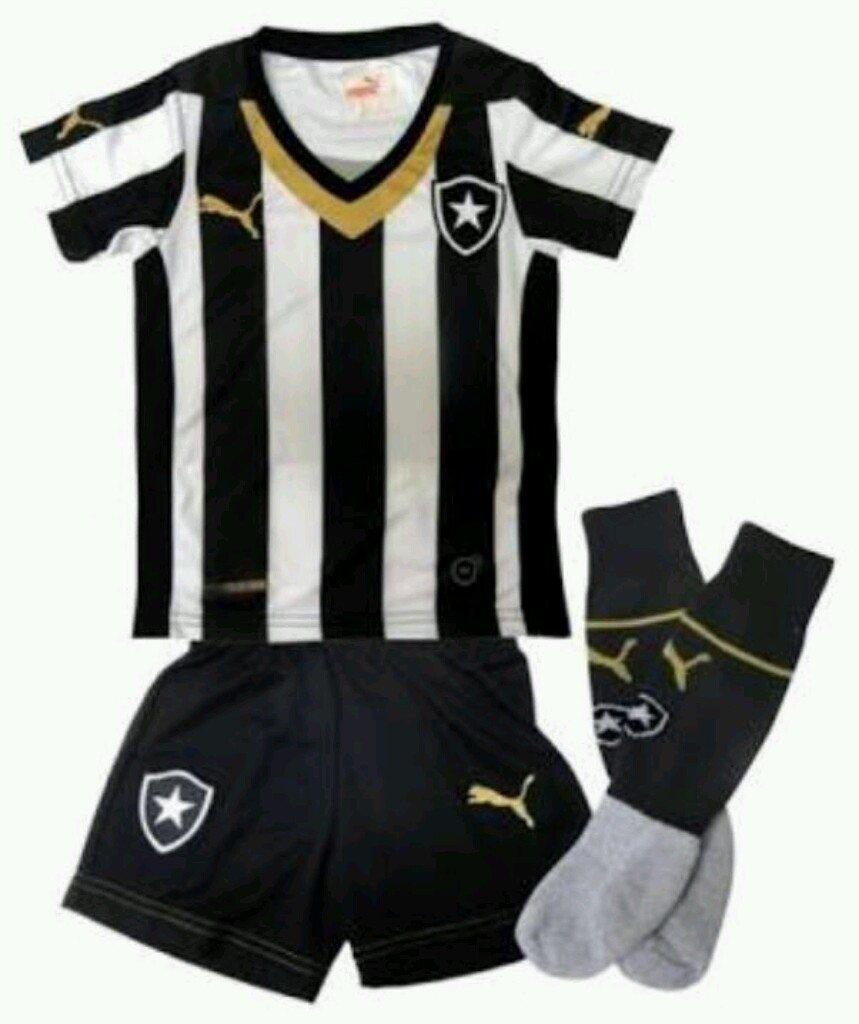 Conjunto Botafogo Infantil Puma f915a9901400d