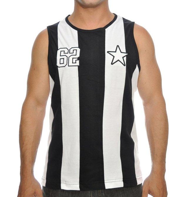Camiseta Retrô do Botafogo 773a66f5c6d65