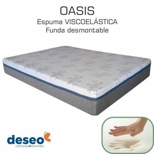d3d0408a74d Colchón Deseo Oasis - 2 Plazas 140x190x24