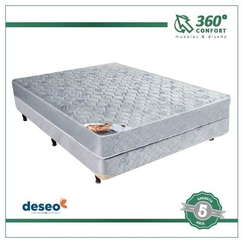Sommier Deseo Onix - 2 Plazas 160x200x27