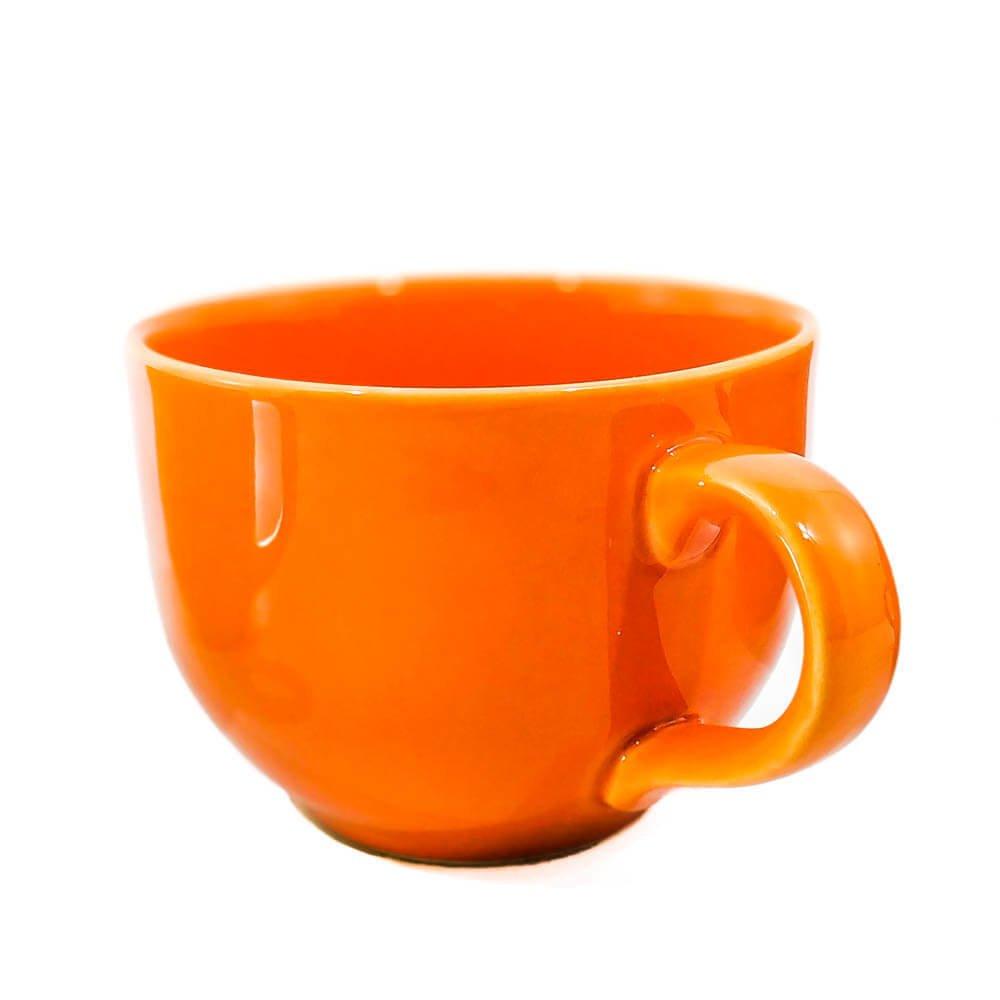 Tazón c/ asa Naranja
