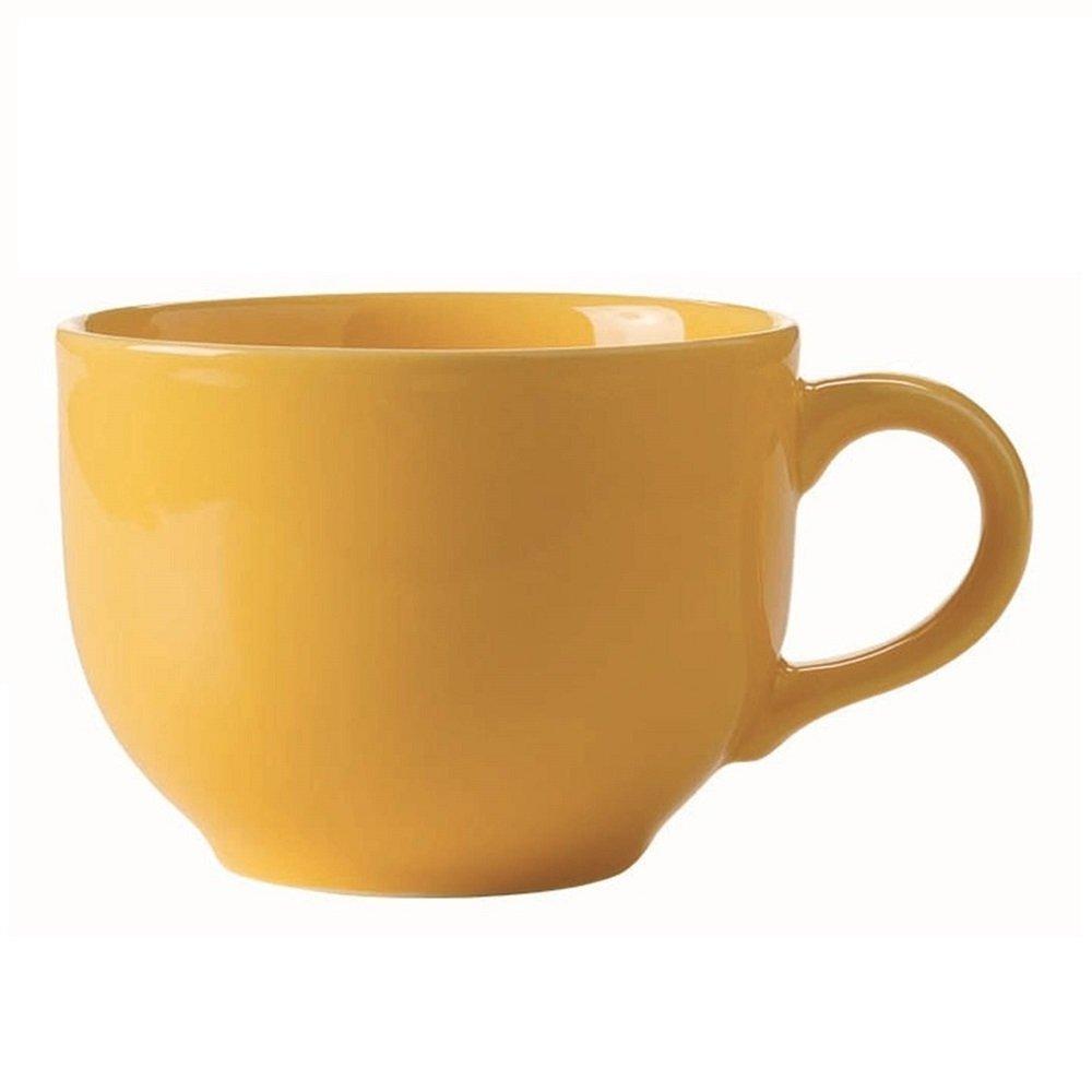 Tazón c/ asa Amarillo