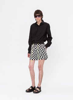 CHECKERBOARD YUKKI SHORT