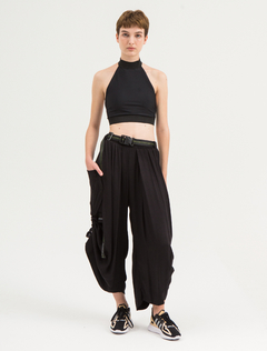 SAKE BLACK CARGO PANTS