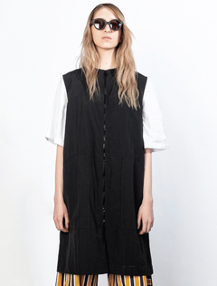 CHINA GIRL BLACK VEST