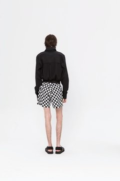 CHECKERBOARD YUKKI SHORT on internet