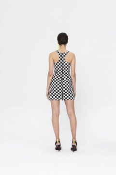 CHECKERBOARD KENSHI DRESS on internet