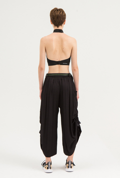 SAKE BLACK CARGO PANTS on internet