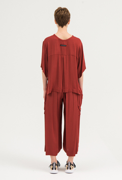 SAKE REDDISH CARGO PANTS on internet