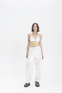 WHITE SHIOMI PANTS - online store