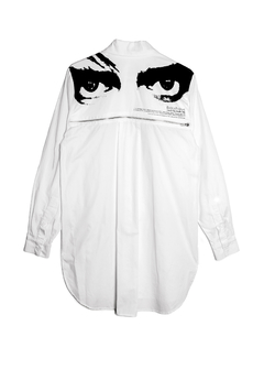 Image of SPELLBOUND WHITE SHIRT - PRE ORDER