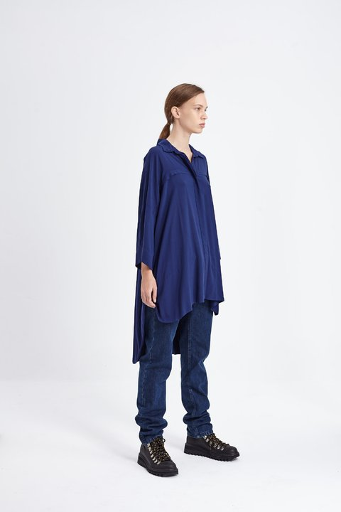 SMITH SHIRT AZUL - comprar online