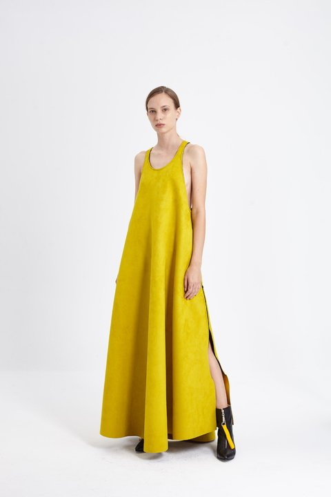 SLOANE DRESS AMARILLO