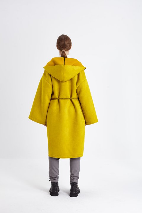 LOMBARD COAT AMARILLO